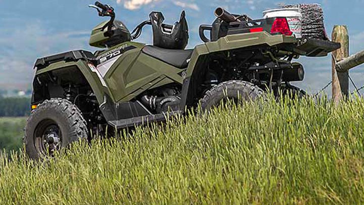 SPORTSMAN X2 570 EPS - TRANSMISSION AUTOMATIQUE PVT POLARIS